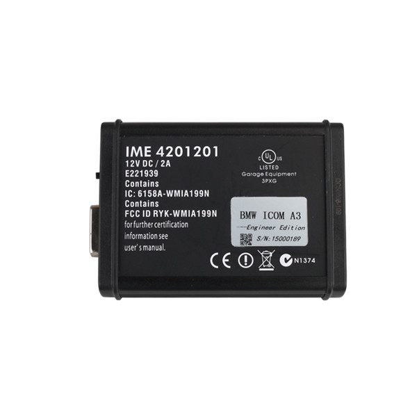 US$429 00 2018 03 BMW ICOM A3 Diagnostic & Programming Tool