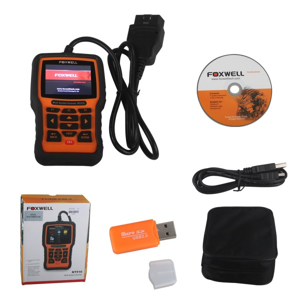 US$189 00 Foxwell NT510 Multi-System Scanner Support Multi