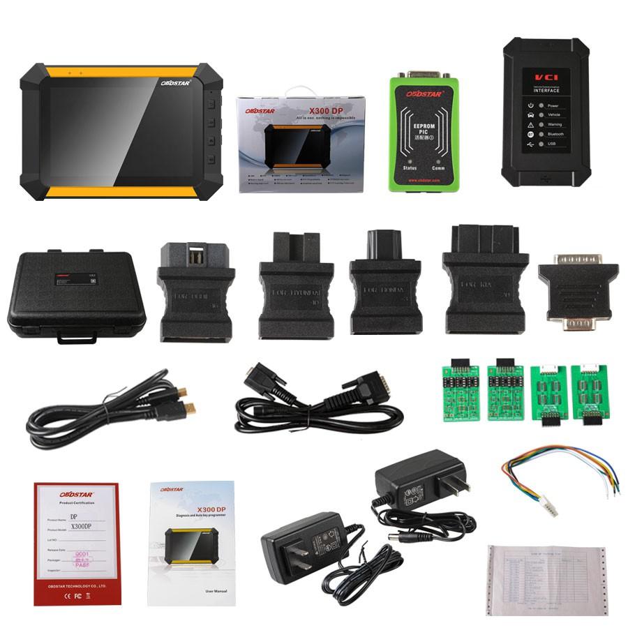 US$698 00 OBDSTAR X300 DP PAD Tablet Key Programmer Standard