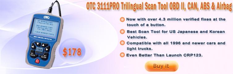 OTC 3111PRO Trilingual Scan Tool OBD II