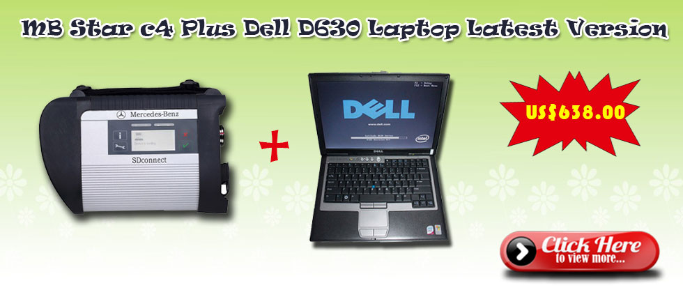 mb star c4 plus Dell D630 Laptop