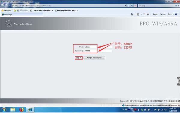 2 OEM Mercedes Benz C6 DOIP Software Registration & Firmware Update Instructions