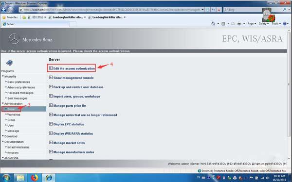 3 OEM Mercedes Benz C6 DOIP Software Registration & Firmware Update Instructions
