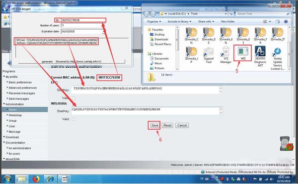 4 OEM Mercedes Benz C6 DOIP Software Registration & Firmware Update Instructions