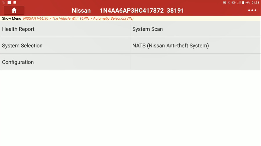 Nissan Maxima 2017 Target Ignition Timing Adjustment 4 Nissan Maxima 2017 Target Ignition Timing Adjustment by Launch X431 Throttle