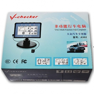 multi-function trip computer A302 for VAG