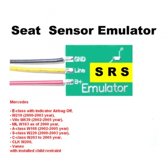 Seat Sensor Emulator for Mercedes SRS3