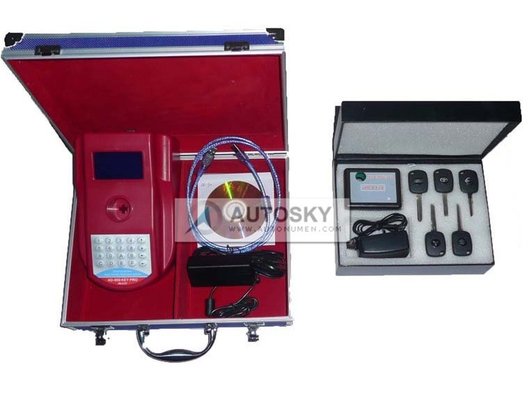 AD900 Key Programmer + 4D key Clone King NEW