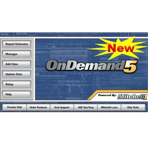 2015 Mitchell OnDemand 5 Mitchell Auto Repair Database