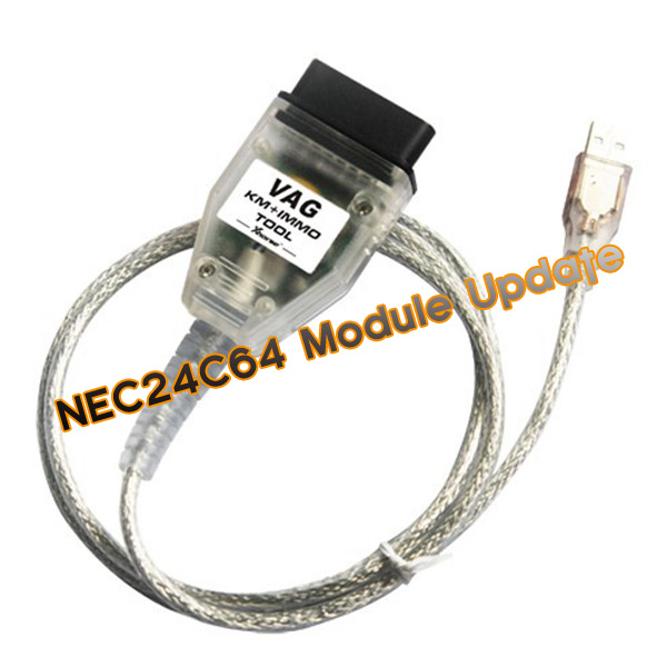 Xhorse NEC24C64 Update Module for Micronas OBD TOOL (CDC32XX) V1.3.1 and VAG KM + IMMO Tool Shipped Online