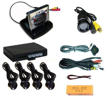 "FLIP -OPEN Video Parking System-Camera and 3.5"" TFT Monitor"