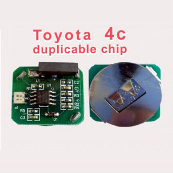 Toyota 4c duplicable chip