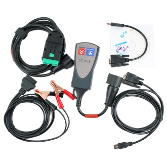 Lexia-3 lexia3 V48 Citroen/Peugeot Diagnostic PP2000 V25 with Diagbox V7.76 Software