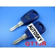 Fiat remote key shell (blue color )