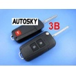 hyundai Tucson flip remote key shell (2+1) button