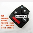 Honda Accord,Civic,Fit,Odyssey remote 313.8mhz 3+1 button (2005-2007)for HK, MALAYSIA, USA, Taiwan