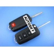 KIA Cerato,Sportage modified remote key shell 4 button