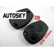 Renault remote 3 button 433MHZ with ID46
