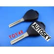 toyota 4D duplicable key shell toy48 (short) with groove