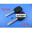 lexus 4C duplicable key toy48 (long) with groove