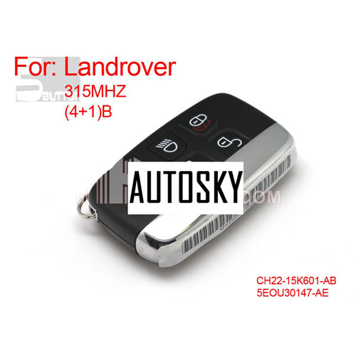landcover discover4 4+1 remote key 315MHZ