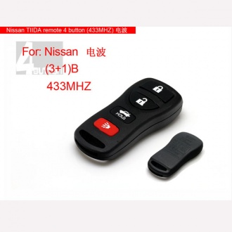 Nissan TIIDA remote 4 button(433MHZ)