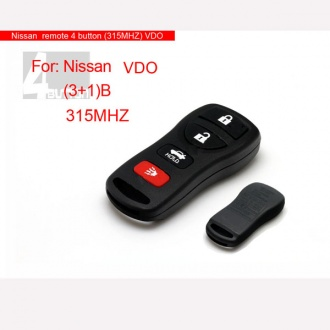 Nissan remote 4 button(315MHZ)VDO