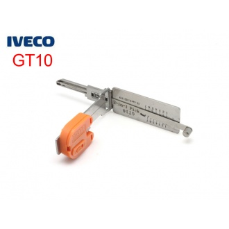 Auto Smart 2 in 1 auto decoder and pick tool GT10
