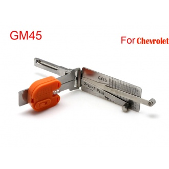 Auto Smart 2 in 1 auto decoder and pick tool GM45