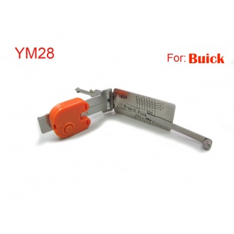 auto 2 in 1 smart decoder and pick tool YM28