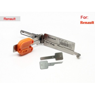 Smart Renault 2 in 1 auto pick and decoder