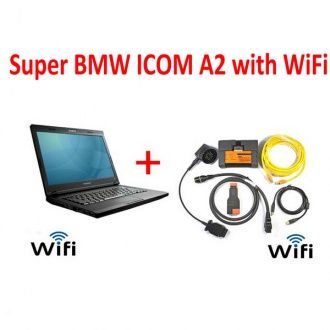 Super BMW ICOM A2+B+C with WIFI Plus Laptop With Latest software 2020.08 Engineers Version