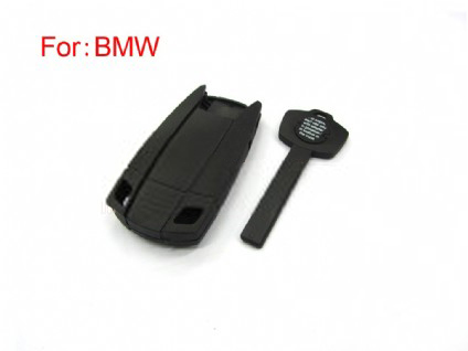BMW CAS emergency key shell with the plastic key