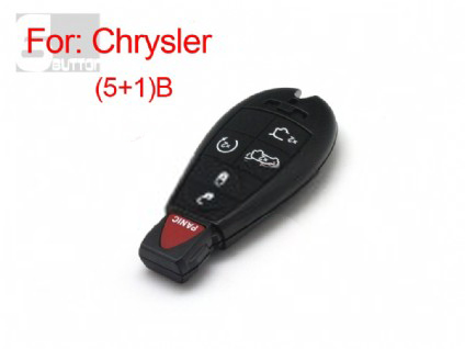 Chrysler smart key shell 5+1 button
