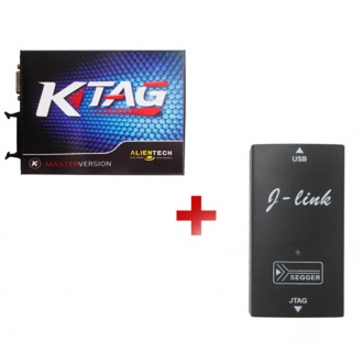 KTAG K-TAG ECU Programming Tool Master Version V2.1 +J-Link JLINK Without Token Limitation