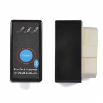 ELM327 Bluetooth OBD2 CAN-BUS Scanner Tool V2.1 with Switch Work with Android