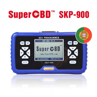 SuperOBD SKP-900 Hand-held OBD2 Auto Key Programmer Portuguese Version