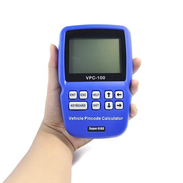 VPC-100 Hand-Held Vehicle PinCode Calculator With 300+200