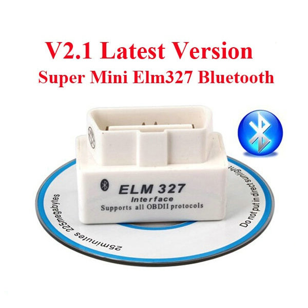 Mini ELM327 Interface Bluetooth OBD2 Scan Tool V2.1