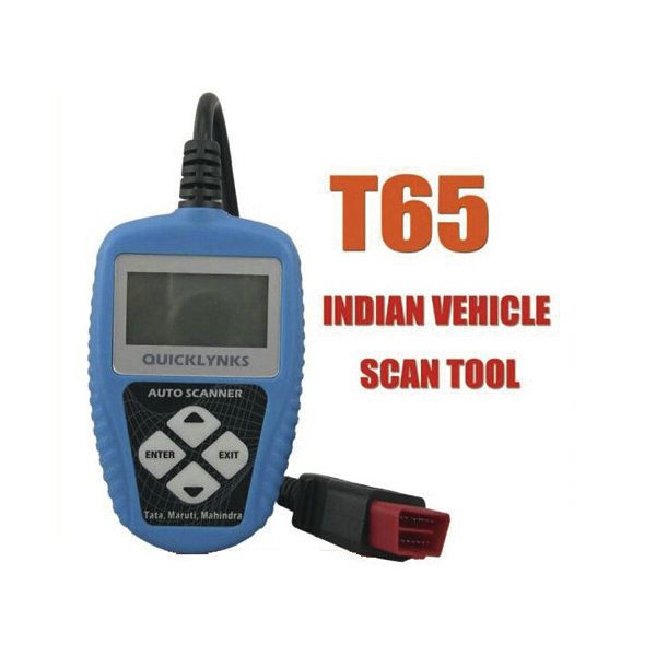 T65 Auto Scanner for Indian Cars Code Reader