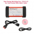 New Design Multidiag Pro+ V2014.03 for Cars/Trucks and OBD2 with 4GB Memory Card