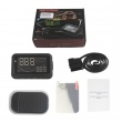 F202 Car Head Up Display Vehicle-Mounted HUD Overspeed Warning OBD2 System