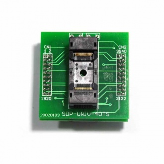 TSOP40 socket adapter for chip programmer