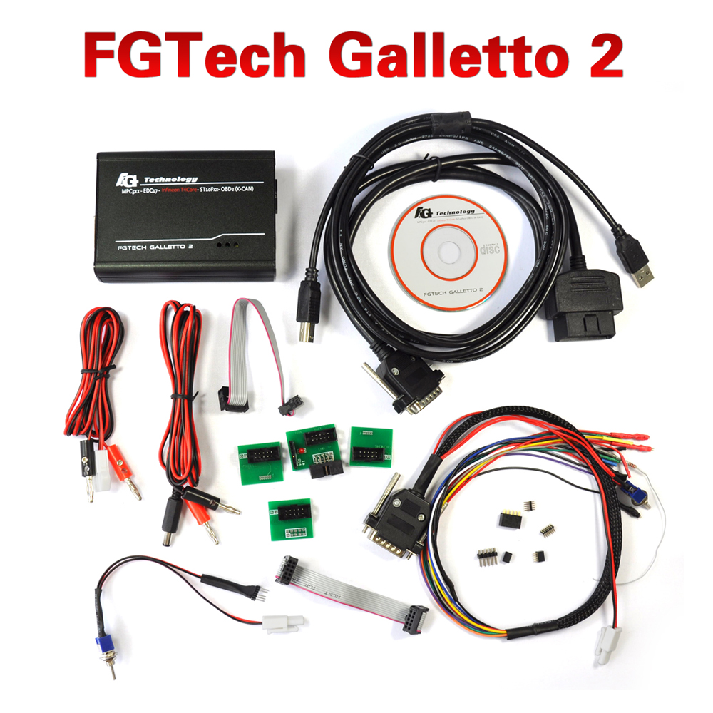 Best Quality New FGTech Galletto 2-Master V52 with BDM Function