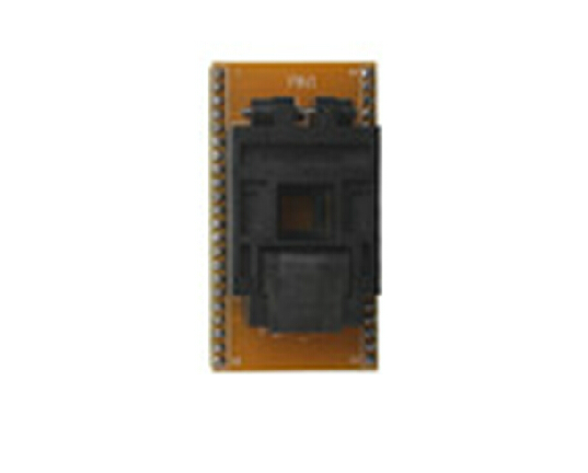QFP44 socket adapter for chip programmer with cover
