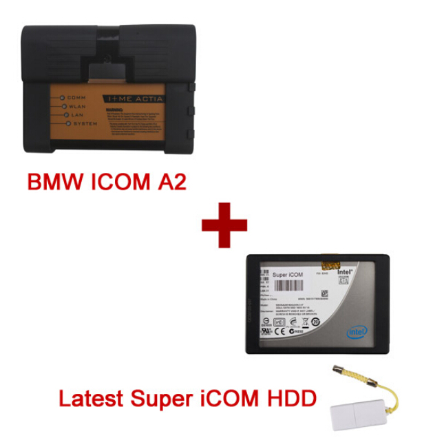 Best Quality BMW ICOM A2+B+C with Super iCOM 2017.12 Version Software Fit All Sata Laptops