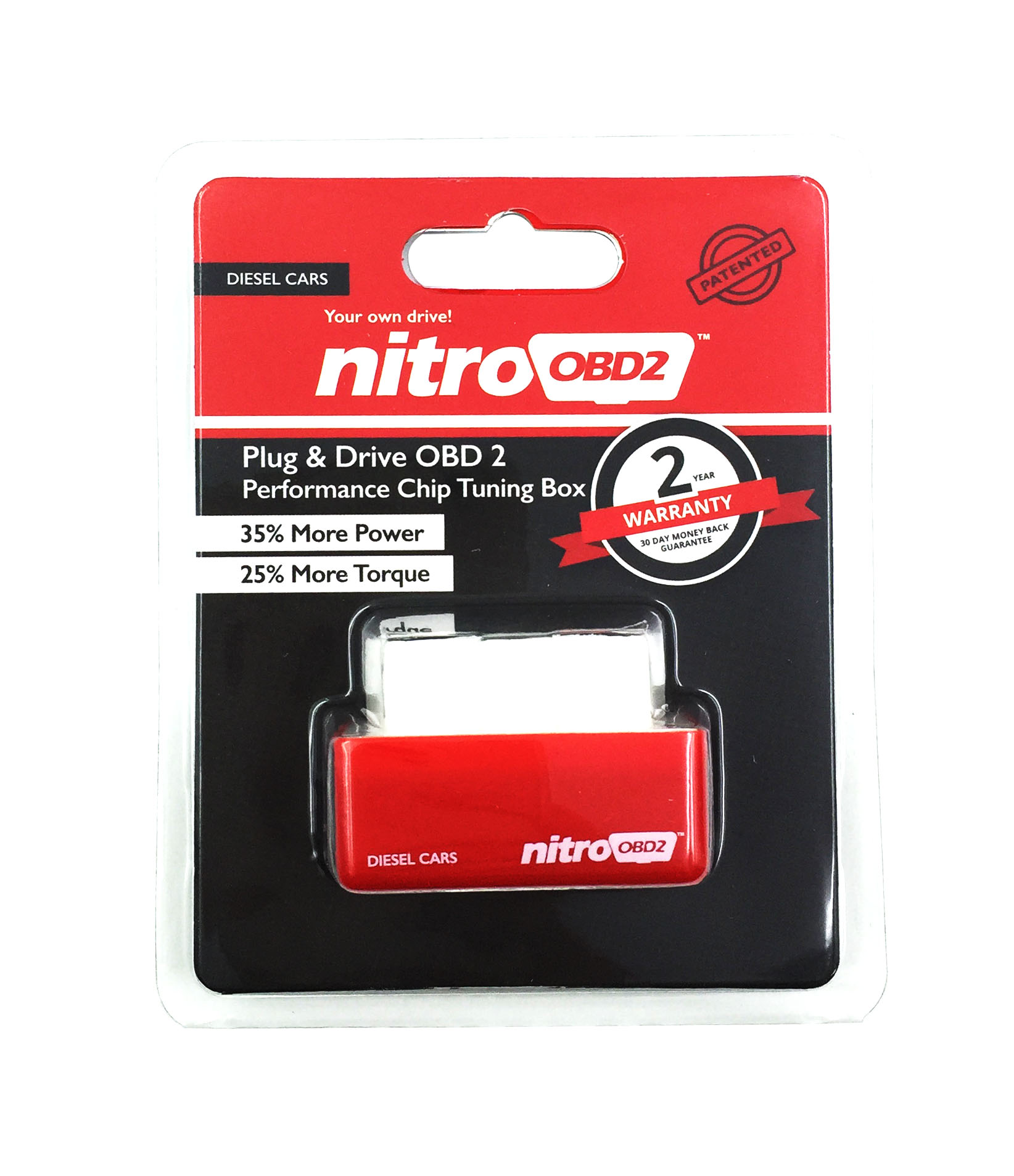 Plug And Drive Nitroobd2 Performance Chip Tuning Box For Diesel