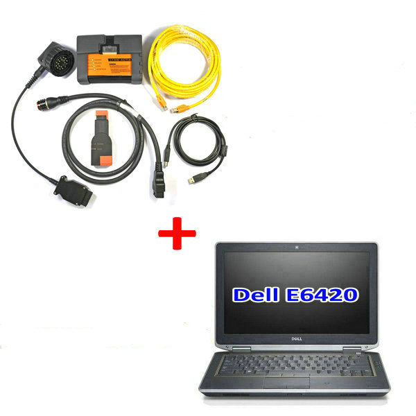 BMW ICOM A2 With V2017.12 Engineers software Plus DELL E6420 Laptop Preinstalled Ready to Use