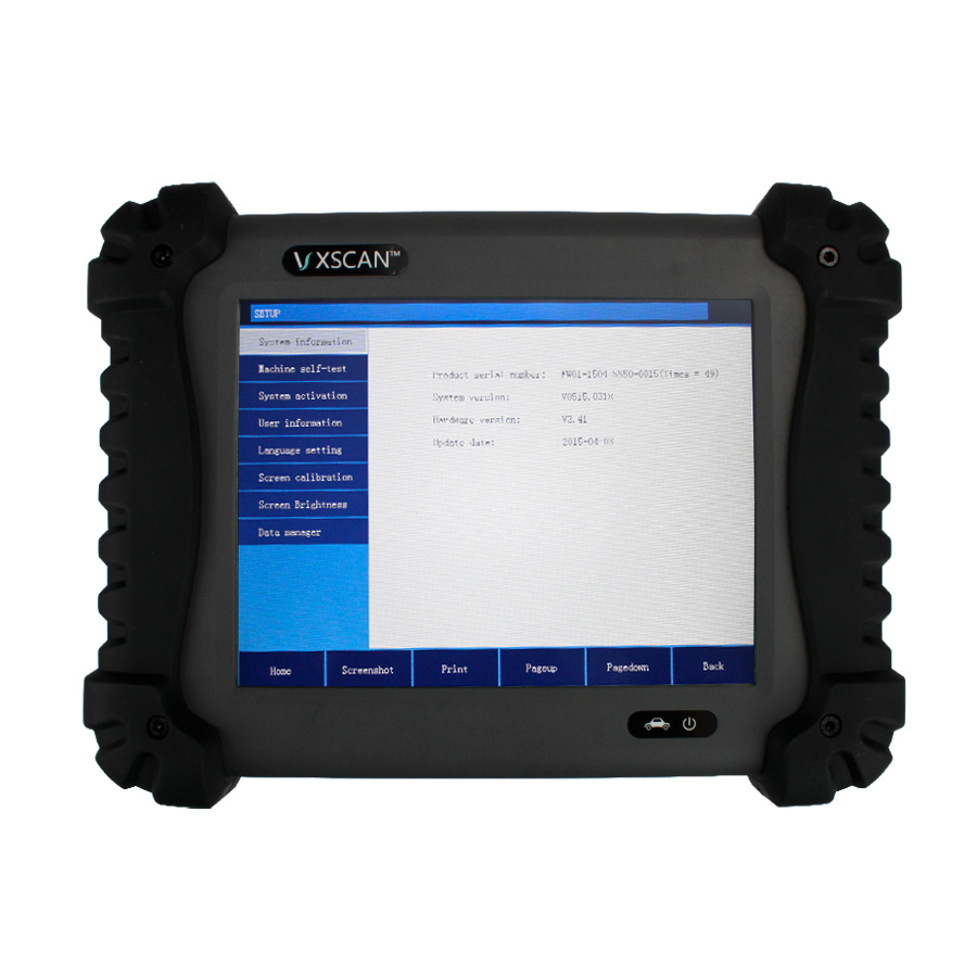 vxscan c8 gasoline automotive diagnostic tool with one. Black Bedroom Furniture Sets. Home Design Ideas