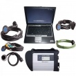 MB SD Connect Compact 4 Star Diagnosis with DELL D630 Laptop 4GB Memory V2012.11 Support Offline Programming